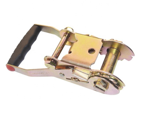 "2"" 5T Medium Plastic Handle Ratchet Buckles"