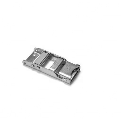 "2"" 50mm 1T Stainless Steel over Center Buckle"